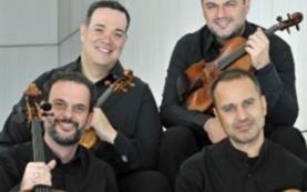 Συναυλία του Κουαρτέτου Εγχόρδων Αθηνών στη Ρουμανία